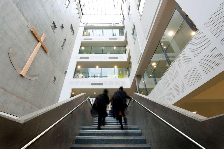 Image of Chelsea Academy secondary school atrium